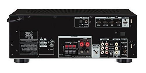 Pioneer - 5.1-ch. Ultra Hd 3d Pass-through A/v Receiver - Black