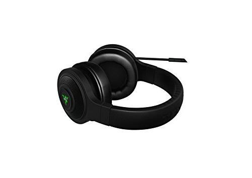 Razer Kraken USB Black Isolating Over-Ear Gaming Headset Mic - PC &