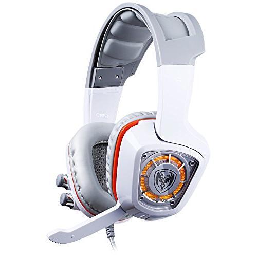 SOMIC USB Plug Virtual Urage Sound PC Vibration LED lights G910, White