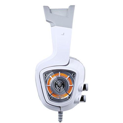 Urage 7.1 Sound Gaming for PC PS4 Laptop Vibration Mic & LED lights