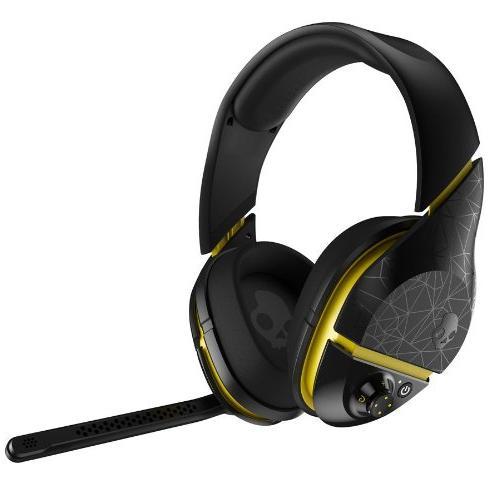 Skullcandy PLYR2 Surround Sound Wireless Gaming Headset, Bla