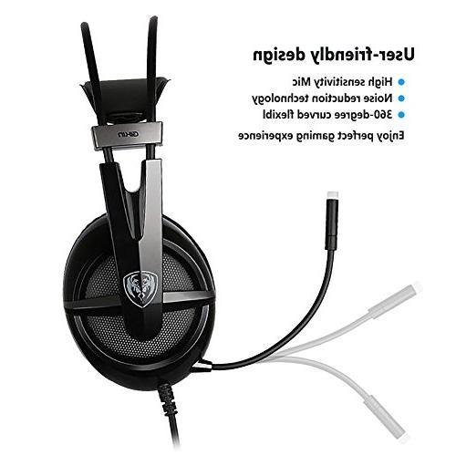Somic Virtual Surround Sound PS4 Mic and LED plug