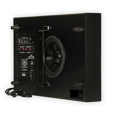 Theater Solutions SUB8S 250 Watt Surround Sound HD Home Thea