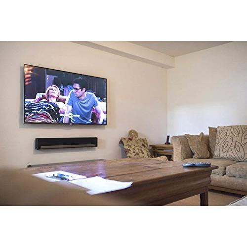 Universal Stand Duty Steel Home Audio Speaker Sonos, Vizio, Bose, Toshiba, LG, Phillips, Home Theater Sound Bar Systems Pyle