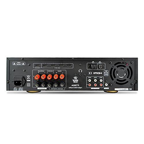 System 300W Channel Home Theater Sound Audio Stereo Box w/HDMI, Remote, - PT592A