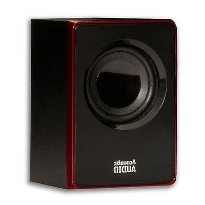 Acoustic 2.1 Speaker Multimedia Computer