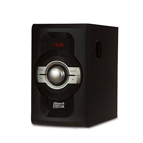 Acoustic Theater 5.1 Speaker System with USB SD Inputs