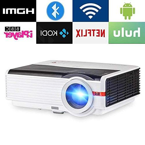 android projector wifi bluetooth