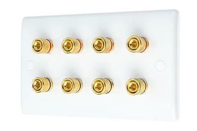 audio surround sound speaker wall face plate