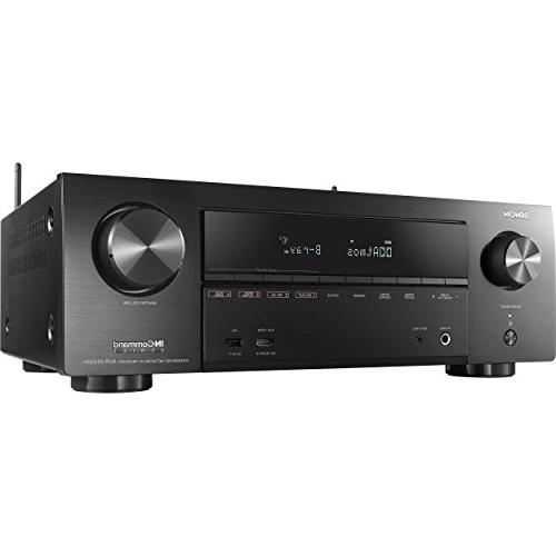 Denon AVR-X1500H AV Receiver HEOS 3D Control, for Stunning Experience Bundle HDMI Polishing Cloth