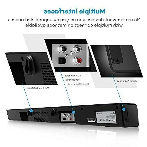 Best Surround Sound System For TV Full Bluetooth
