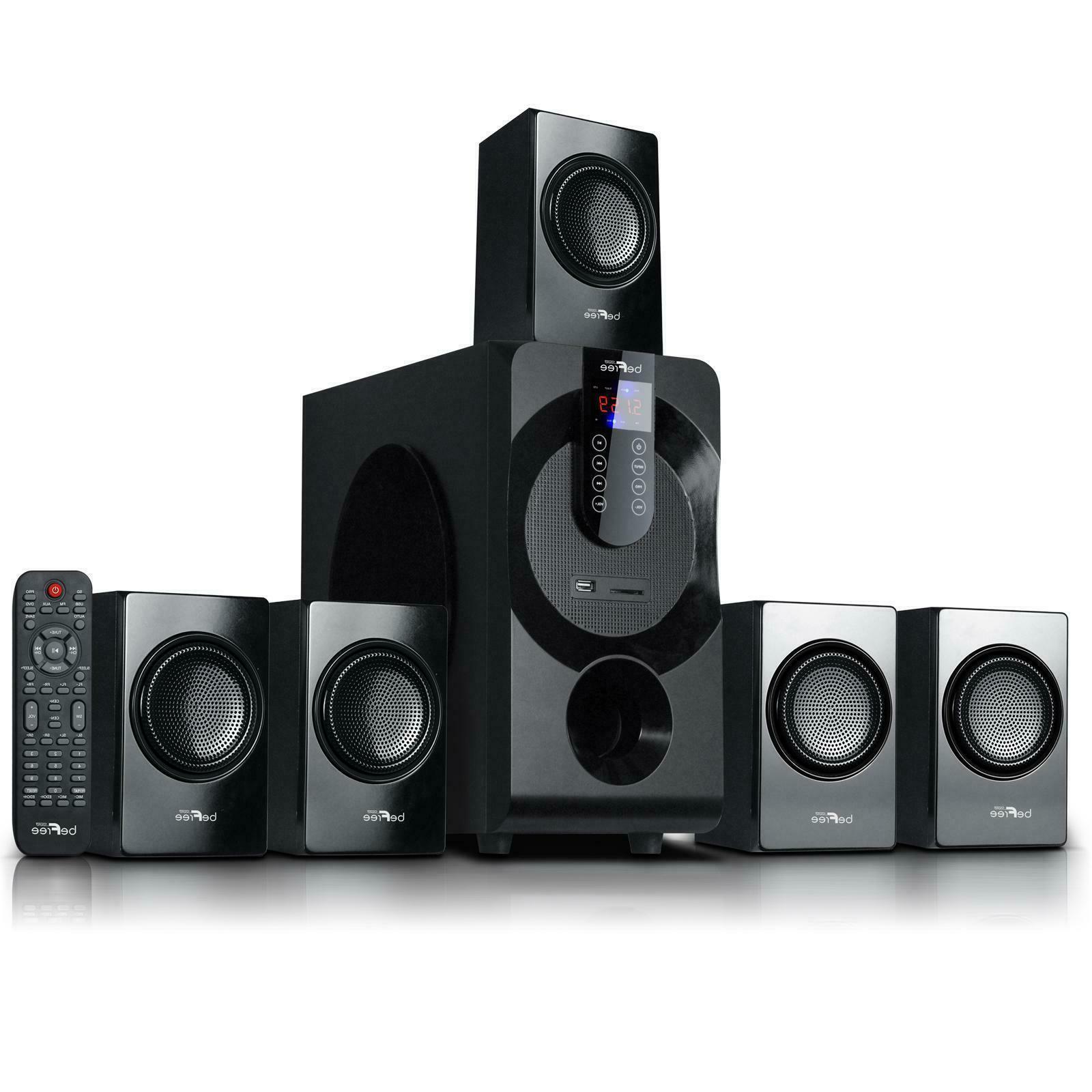Blue Octave Home B52 5.1 Surround Sound Home Entertainment System+New.....