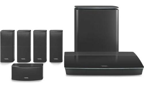 black lifestyle 600 home system