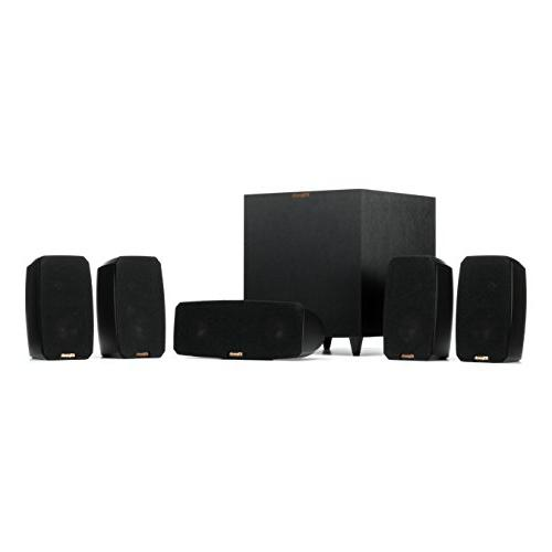 Klipsch Black Reference Pack 5.1 System
