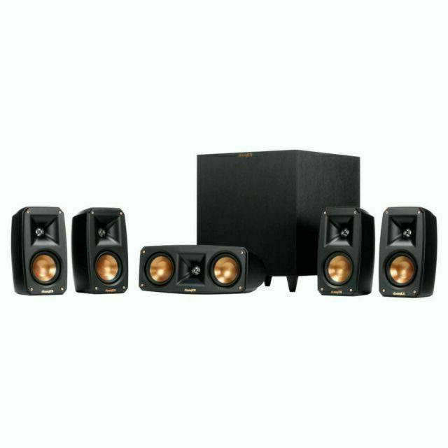 Klipsch Black Reference Theater Pack Sound System