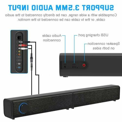 Bluetooth 5.0 3D Sound Bar Wireless TV Home Theater