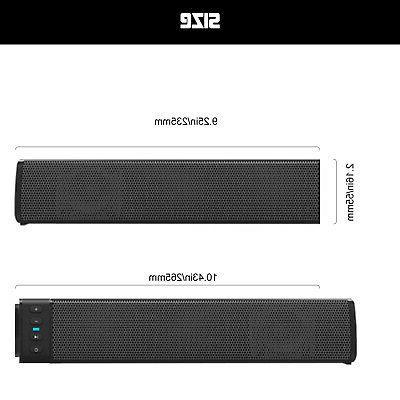 Bluetooth Soundbar Speaker System 3D Surround Sound