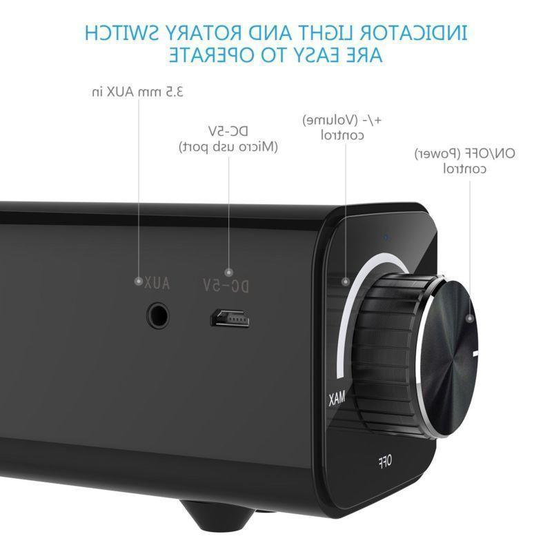 Bluetooth Soundbar TV Speaker Wireless Subwoofer 3D