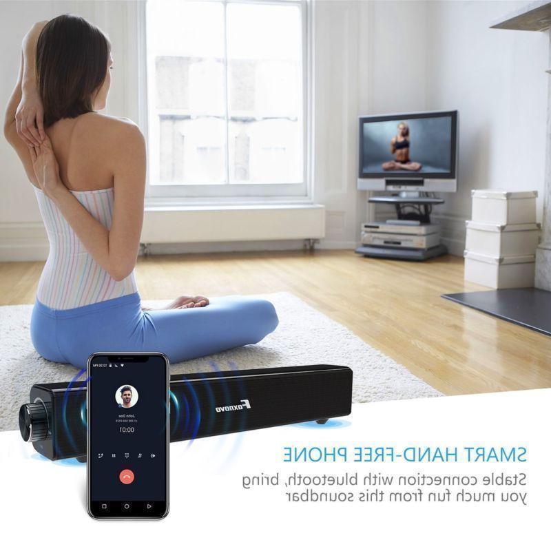 Bluetooth Soundbar Speaker Wireless 3D Surround
