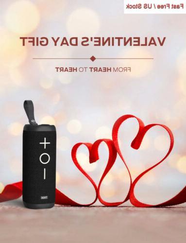 Tribit Bluetooth Speaker - 24W Speaker, 360° Full Sound,...