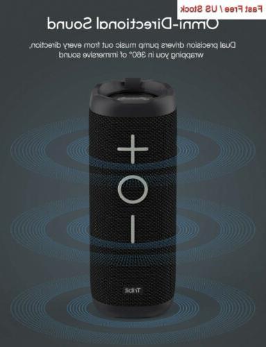Tribit Bluetooth Speaker - 24W Portable Speaker, Full Surround