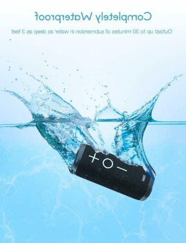 Tribit Bluetooth Speaker - 24W Portable, 360° Full Surround