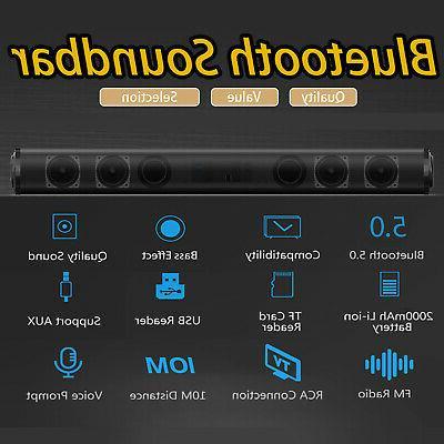 Bluetooth Surround Bar Home