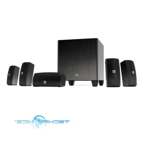5.1 Theater System with Powered Subwoofer