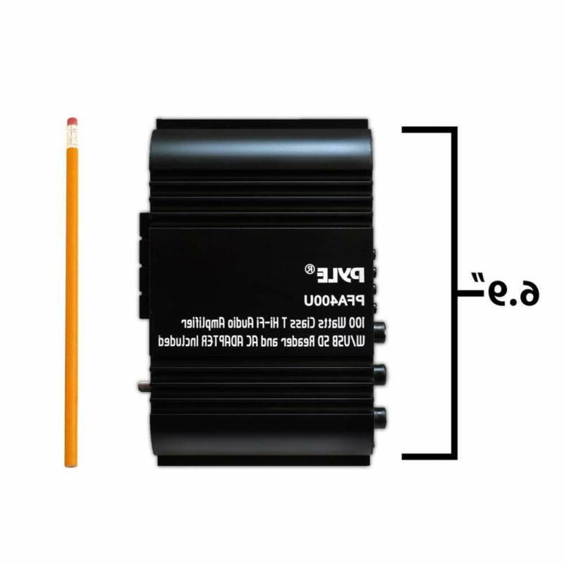 Class-T Amplifier Dual Channel Rec