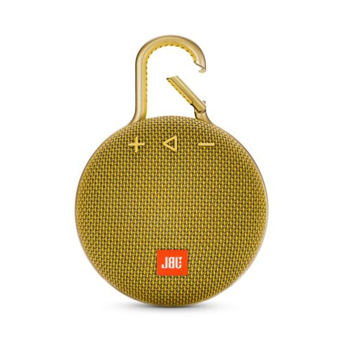 clip 3 portable bluetooth speaker yellow