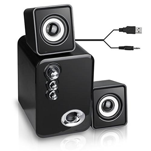 Computer MeetuoSound Powered Multimedia for IPAD, Bass&Treble