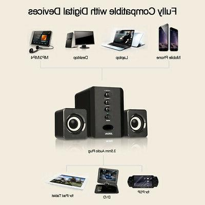 USB Wired Bass Subwoofer Sound Box