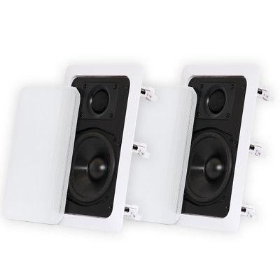 Theater 160 RMS - 320 - 2-way White to 8 - dB Sensitivity