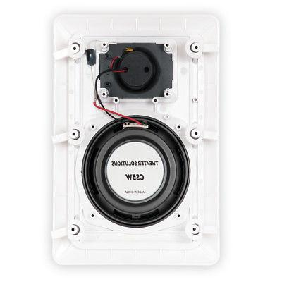 Theater Solutions CS5W 160 W RMS 320 W Speaker - White 8 90 dB