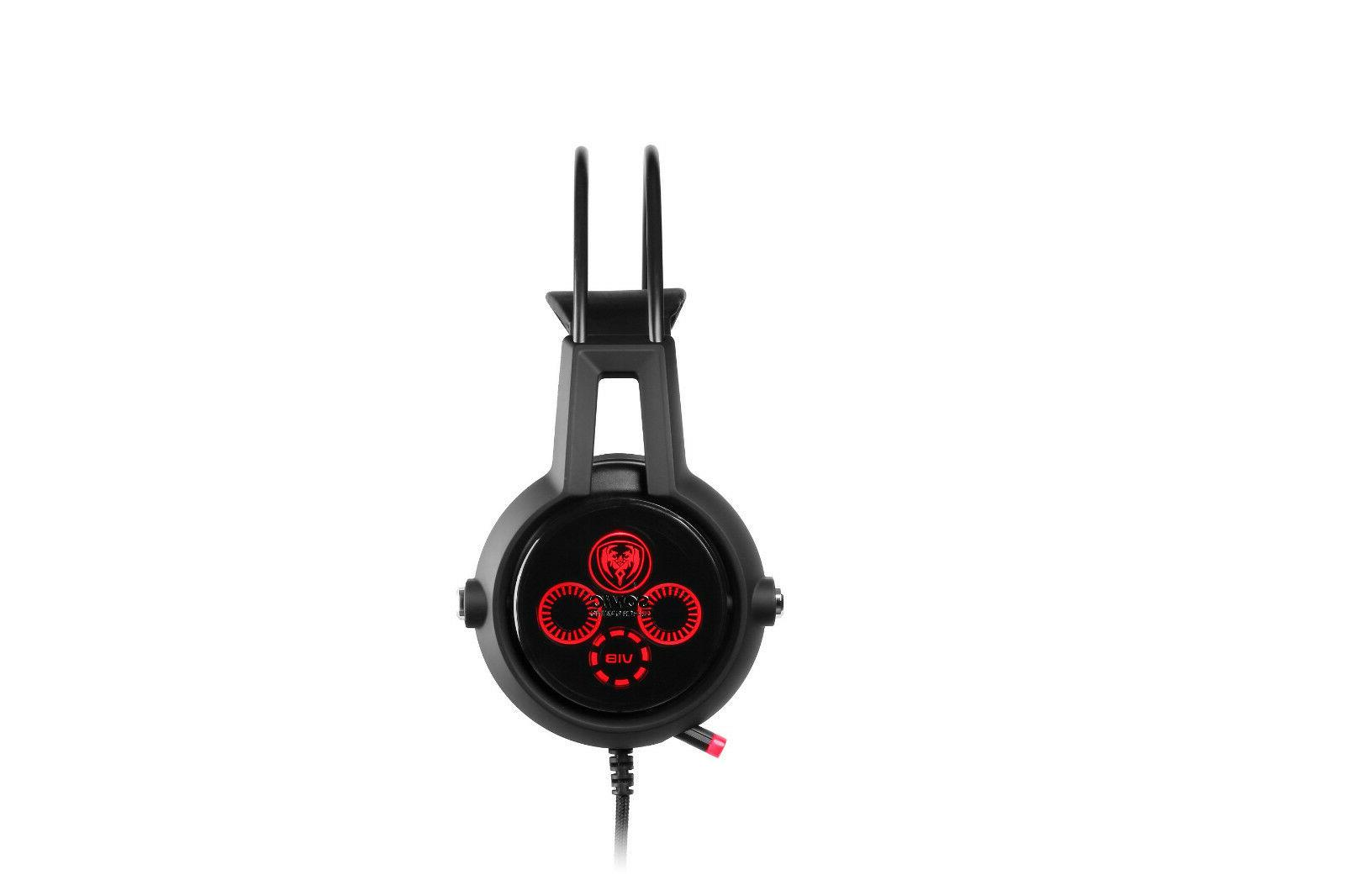 SOMIC Channel Surround Sound Gaming Headset Vibration