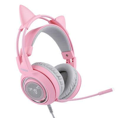 earphone headphone usb headset surround sound girl