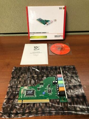 ENCORE 24-bit PCI Surround Sound Card