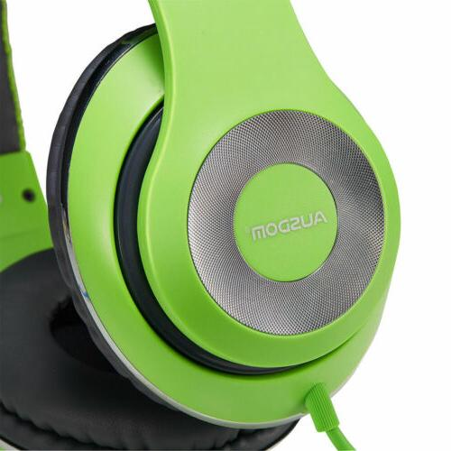 Ausdom Connector Headphones Stereo Headset Earphone