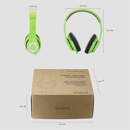 Ausdom F01 3.5MM Connector Headset Earphone