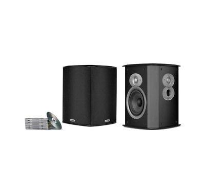 Polk Audio FXi A4 Black  - Open Box Bi-Pole, Di-Pole Surroun