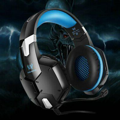 Over-ear 3.5mm Mic PC PS4