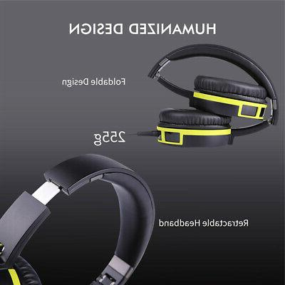 SOMIC Headset Headphones Stereo Surround Sound For Xbox ONE J8L5
