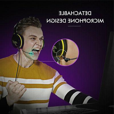 SOMIC G801 Headset Headphones Stereo Surround For PS4 J8L5