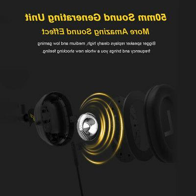 SOMIC Gaming Earphone Virtual Surround USB Wired w/Mic M6U4