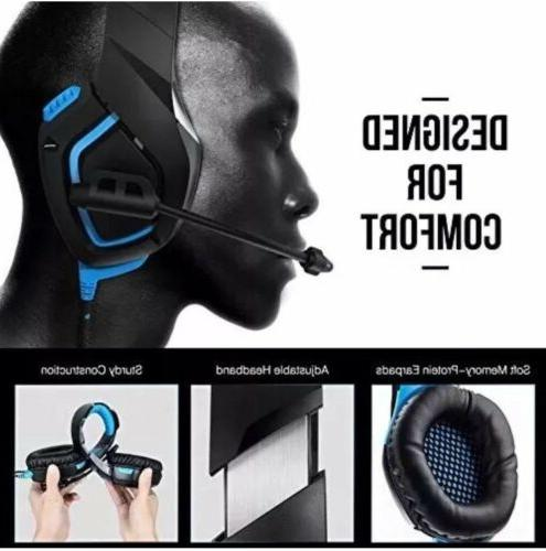 Gaming Headset Stereo Sound, No