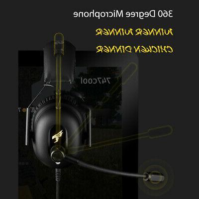 SOMIC Gaming Headset Surround Sound 7.1 USB 3.5mm K8Z7