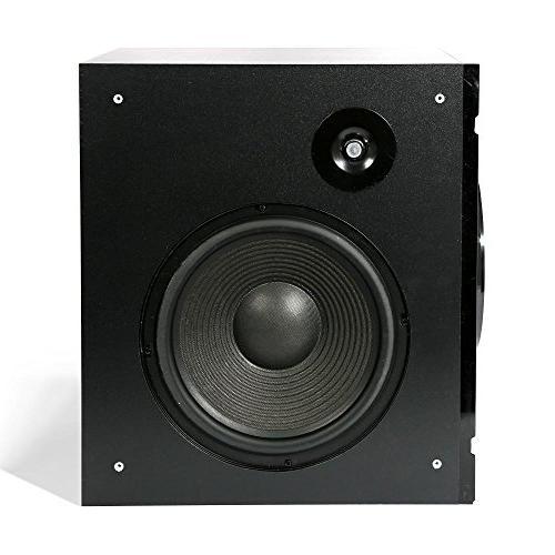 5.1 Channel Amplifier Speaker Wireless Surround Sound Home Theater Receiver Built-in Remote, FM - PT589BT