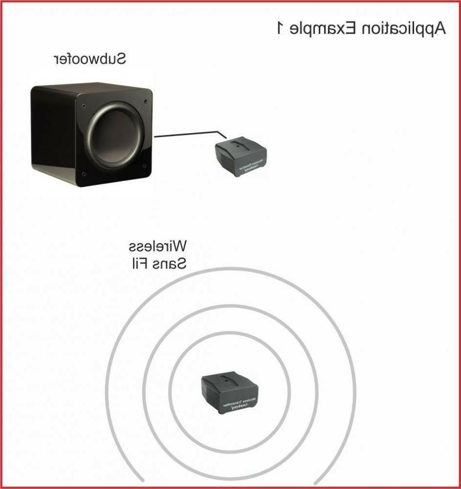 iFinity Wireless Audio Transmitter/Receiver Speakers