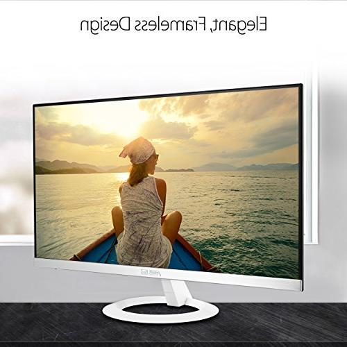 ASUS VZ239H-W HD IPS VGA Eye White