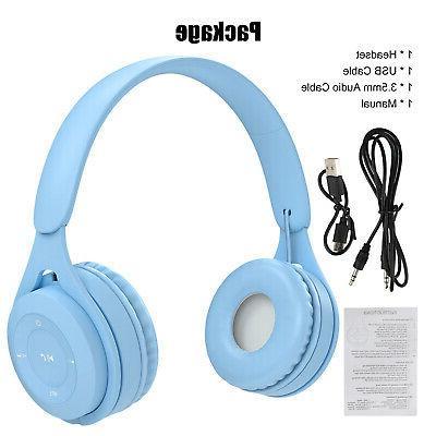 Kid Bluetooth Headphone Ear HiFi